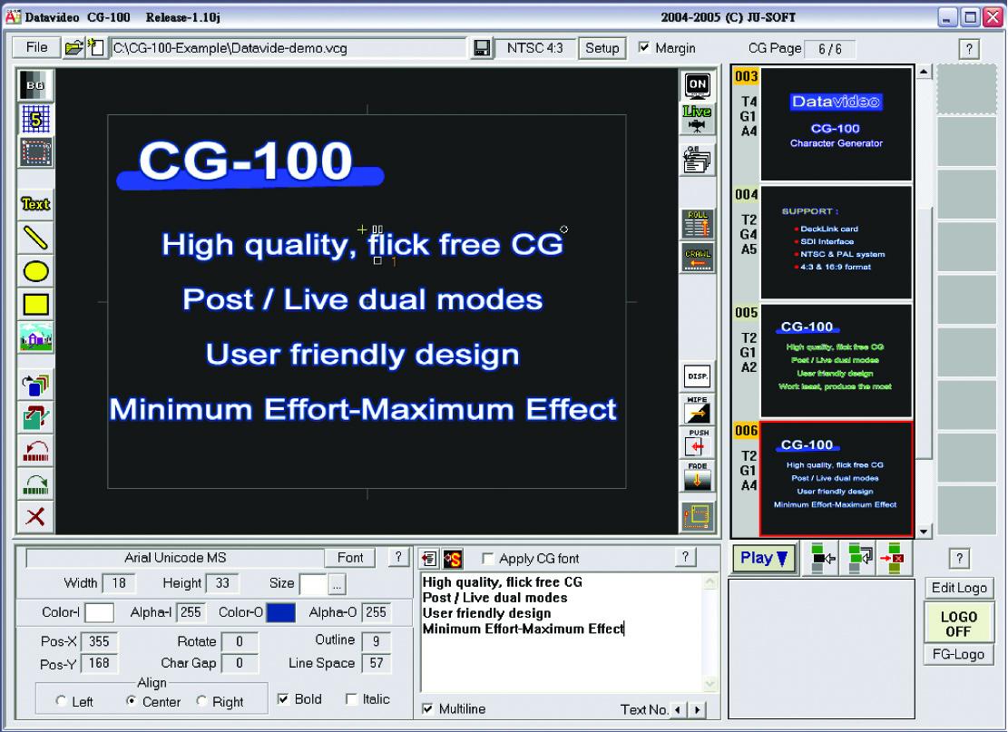 Datavideo CG-100