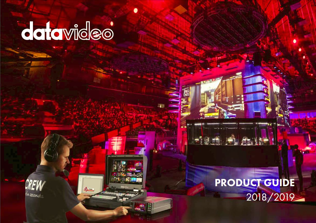 Datavideo Product Guide 2018 & 2019