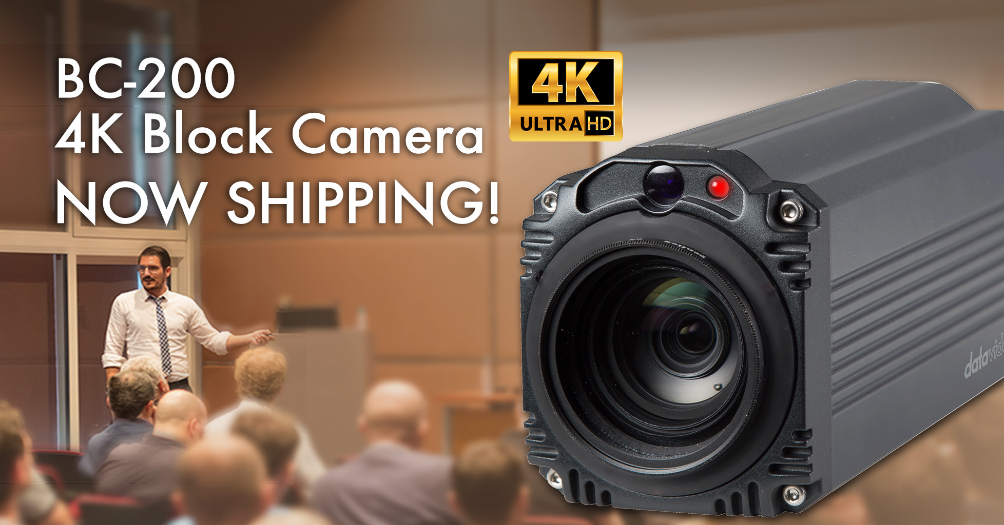 Datavideo Announces BC-200 4K Block Camera is Now Shipping