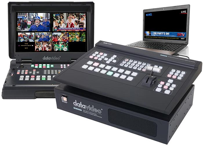 Datavideo's new vision mixers deliver live titling