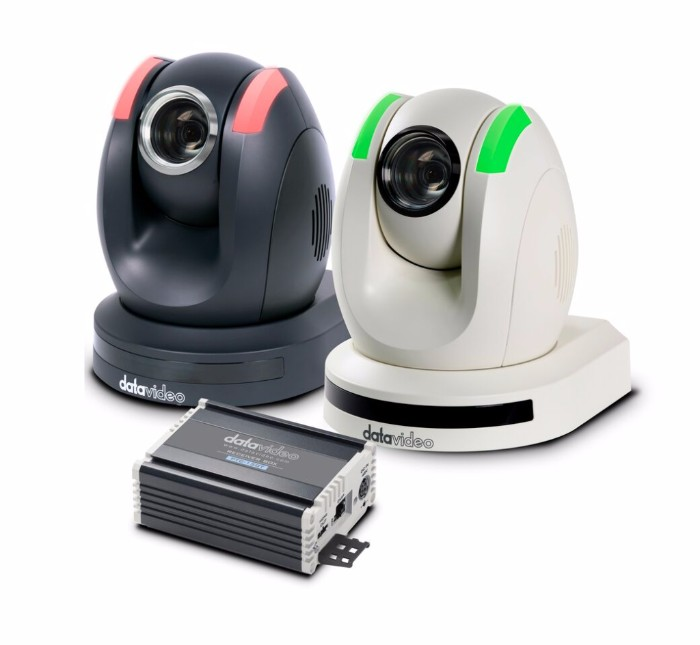 Datavideo Announces a New PTZ Camera with HDBaseT Technology